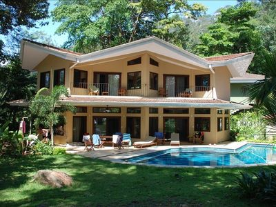 Beautiful beachfront location is a fantastic home for your Costa Rican vacation.