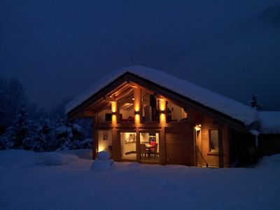 Chalet at the foot of Mont Blanc and Chamonix ski in Les Houches