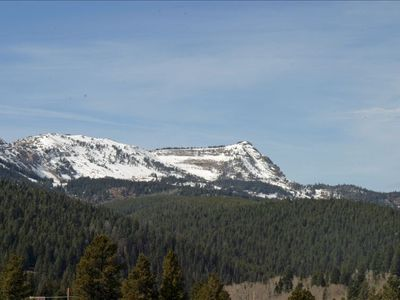 View from the Deck: Lionhead's Peak