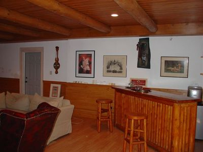The lower level Captain's bar
