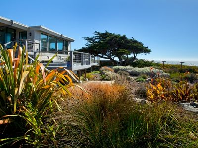 *Deja-Blu*A Spectacular Oceanfront Home/Panoramic Pacific Ocean Views w/Hot Tub!