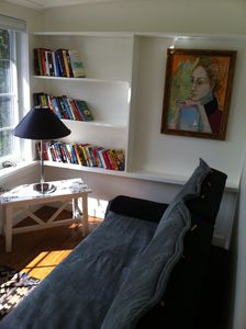 Library - Sun Room with Futon