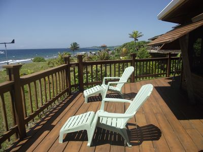 Large furnished Sun Deck