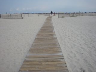 Wildwood Crest condo photo - Pathway to the beach