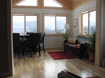 Sunroom/ dining room, eat or relax with a good book!