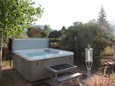 And of course, The Hot Tub, private and ready for  up to six family or friends