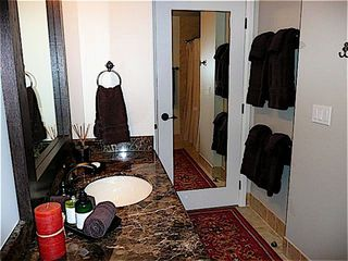 Guest Bathroom with tub and shower - Sandpoint condo vacation rental photo