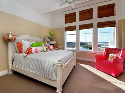 Guest Bedroom - Compass Point II, 422 - Watersound, FL - Queen Bedroom - beach view