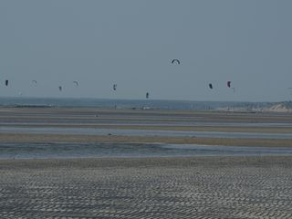 Orleans house photo - Kite flying at low tide, Skaket Beach