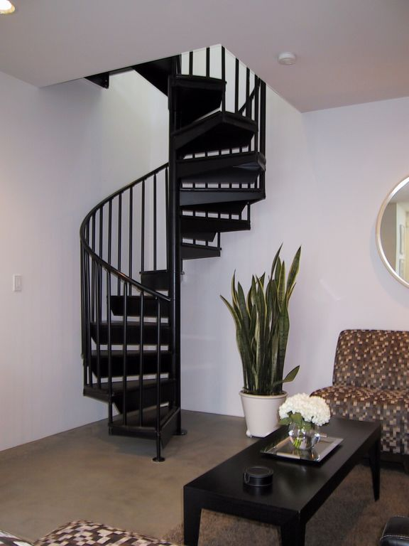 Modern Townhome Staircase 2: West Hollywood townhome rental,West ...