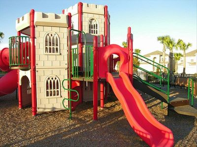 Enjoy this playground just one block away!