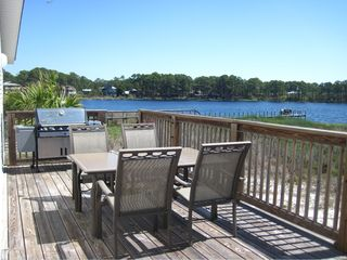 Santa Rosa Beach house photo - Outdoor dining area