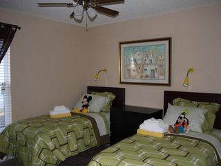 Westridge villa photo - twin bedroom with flatscreen TV , Xbox with games, toys