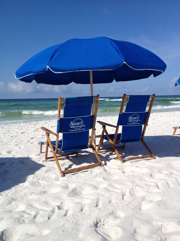 Daily Beach Service is included with your reservation (March - October)