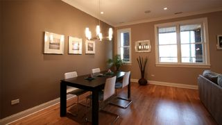 Dining room table- seats 6 - Chicago condo vacation rental photo