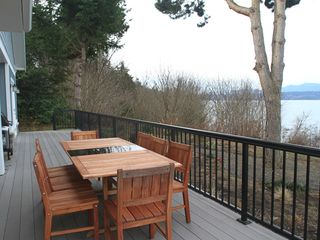 Poulsbo house photo - Deck and View of Water