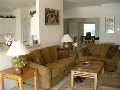 Living Area With Sleeper Sofa