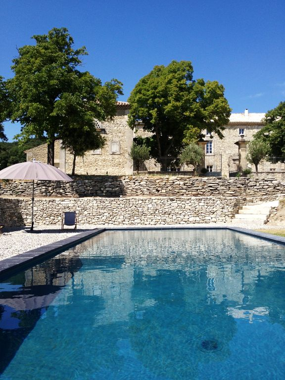 Drome Provencale between Grignan / Vaison la R- House Master-heated pool