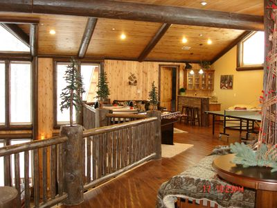 Big Bear City house rental - Bonus Room , just a partial look