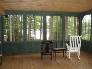 South Chatham cottage photo - Screened porch (we have more rockers!)