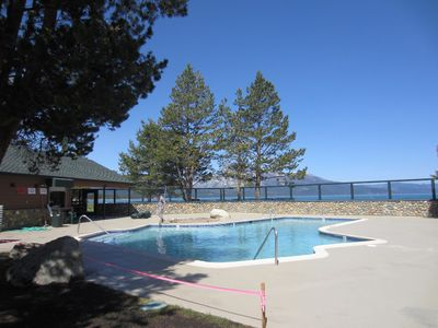 Tahoe Keys outdoor pool open in summer