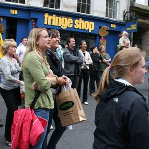 Edinburgh Fringe Festival crowd