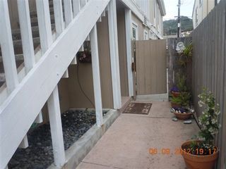 Del Mar condo photo - entry from street, stairs up to 1935