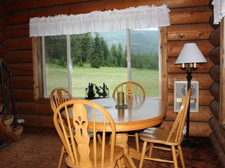 Noxon cabin photo - Dining area