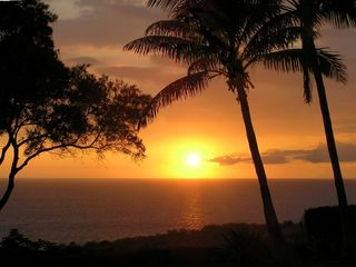 Kohala Ranch villa photo - Another of Hawaii's Tranquil Sunsets