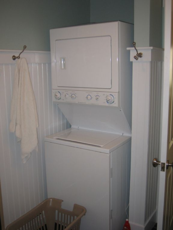 Washer Dryer in bathroom