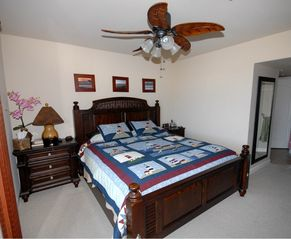Oceanside condo photo - Master Bed, KING
