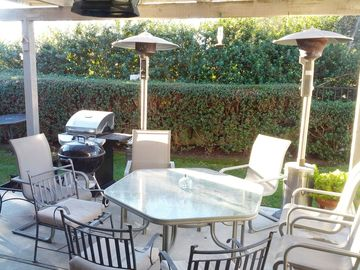 Nipomo house rental - Comfortable patio