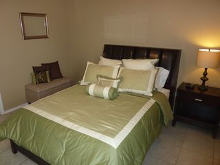 South Padre Island condo photo - Roomy master bedroom with plenty of closet space