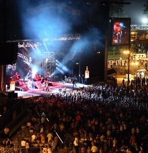 Orange Beach condo rental - Amphitheater - great concerts right at the Wharf call Kelli 800-933-6068