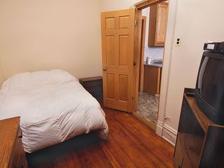 Chicago apartment photo - Another bedroom with tv. All bedrooms have comfy queen beds