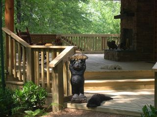 Jamestown cabin photo - Four-legged friends are welcome!