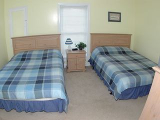 Cherry Grove Beach house photo - Bedroom with two Queens