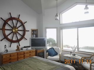Oceanside house photo - Master bedroom with beautiful views