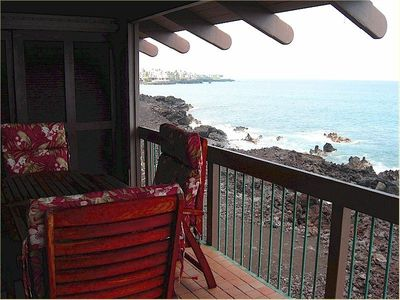 Watch the Kona sunsets from your private lanai