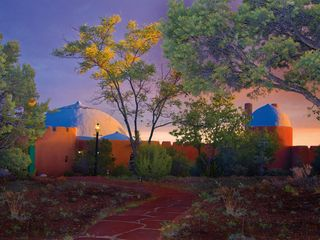Santa Fe house photo - Rass Mandal at Sunset!