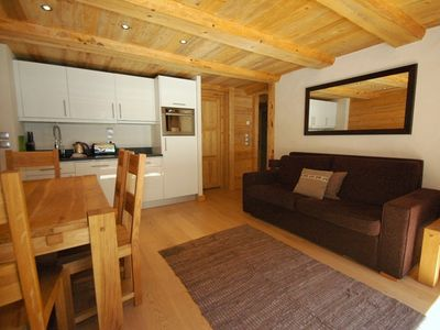 Blaitiere 11 Newly Built Quality 2 Bedroom Apartment In Chamonix Centre