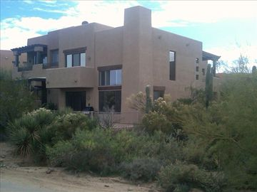 Scottsdale Troon townhome rental - Enjoy your privacy and natural desert open space on this quiet corner lot