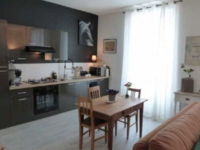 Nice two rooms furnished and decorated with taste near the town center