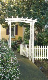 Boulder Creek cottage rental - Private entrance to our scented garden.