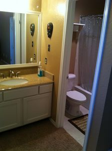 Austin condo rental - master bathroom