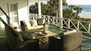 Ponte Vedra Beach house photo - Upstairs Porch 75 wide and 21 feet deep