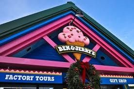 Enjoy Ben and Jerry's Factory