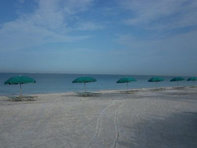 Bonita Bay has it's own private beach area reserved for residents and guests !