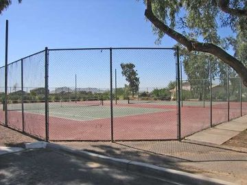tennis courts at the club house