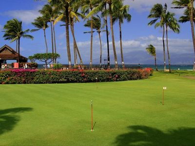 Practice your putting on the resort's putting greens